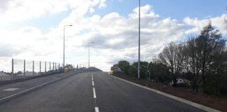 Mardy road bridge in cardiff reopens to road traffic