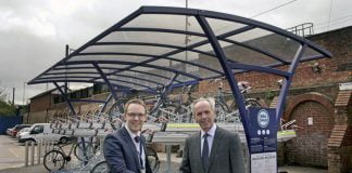 Northallerton gets new cycling facilities by Transpennine express