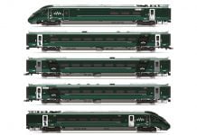 GWR, Hitachi IEP Bi-Mode Class 800/0, 'Paddington' Livery Five Car Train Pack - Era 11 // Credit Hornby