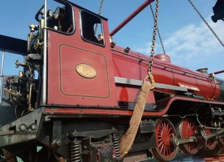 River Mite arrives at the Romney Hythe and Dymchurch railway ahead of annual gala