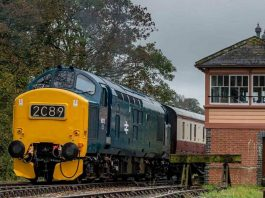 Diesel to replace steam locomotive this weekend at the South Devon Railway