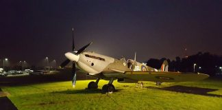 Spitfire set to visit the South Devon Railway