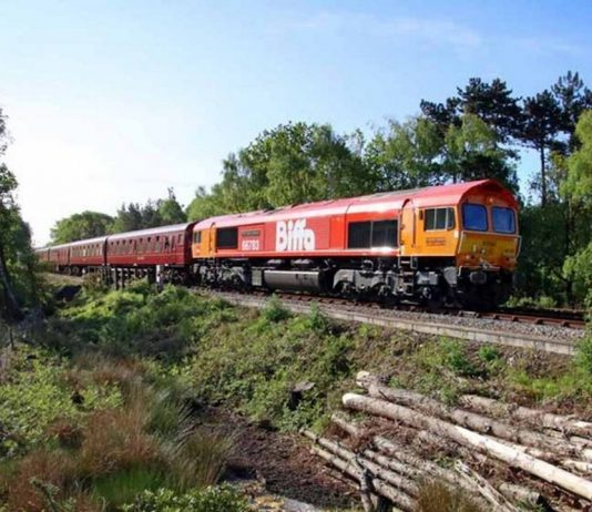 Swanage Railway Diesel gala and beer festival makes history