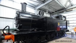 Jinty 47383 sits awaiting overhaul at the Severn Valley Railway