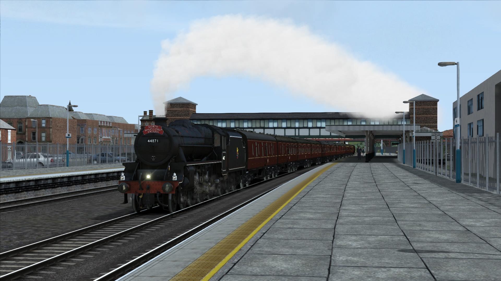 Bossman Games release Black 5 add on for train simulator