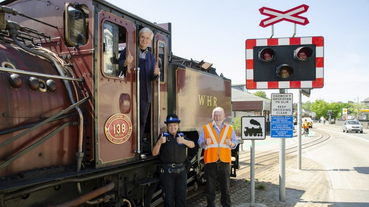 Ffestiniog Railway team up with PCSO to urge public to be vigilant