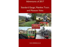 RailAdvent Railway Adventures of 2017 DVD East Lancashire Railway