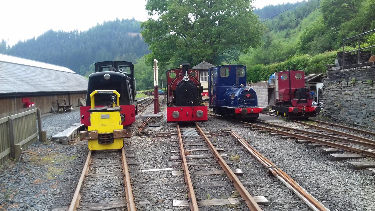 Corris Railway hold successful gala day