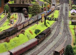 Model Railway exhibition at the COrris Railway