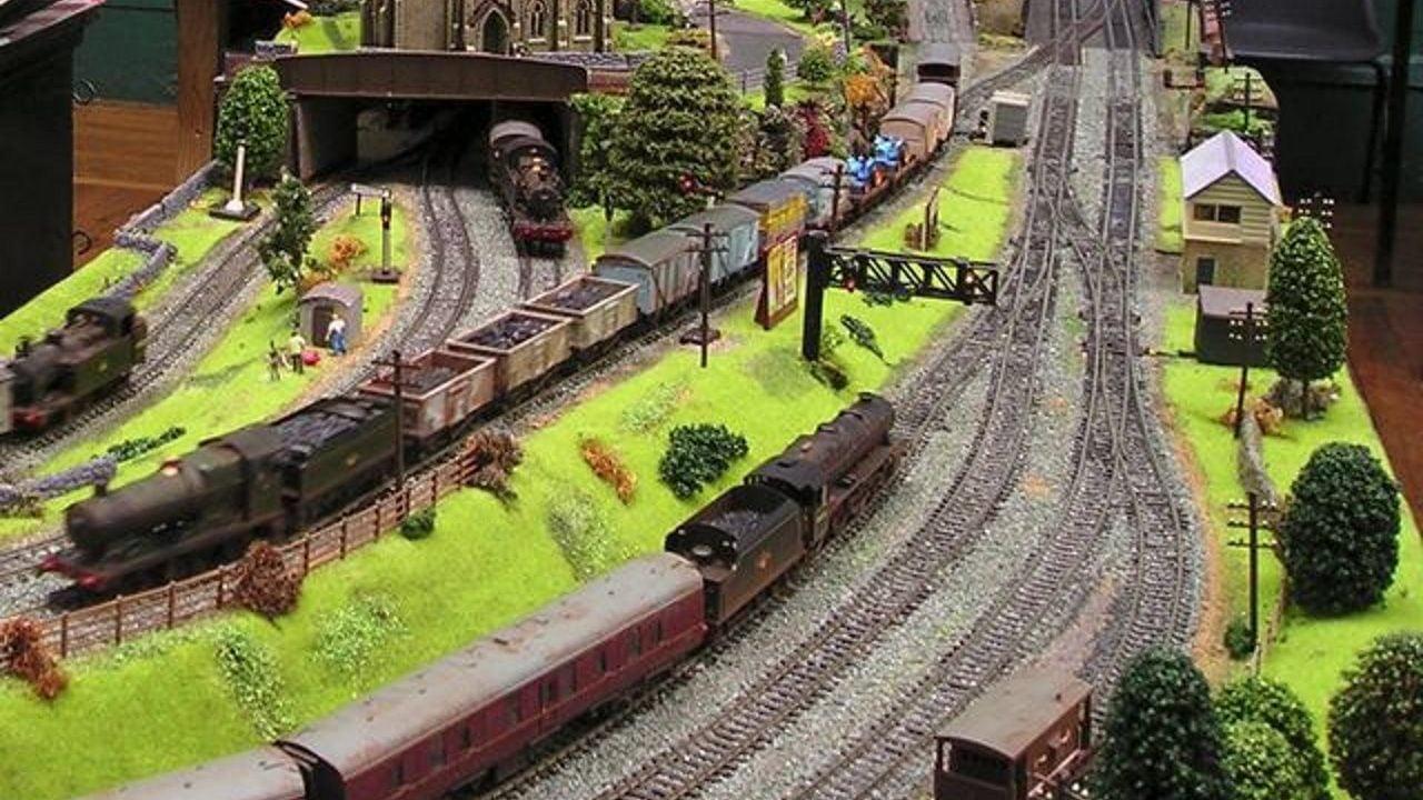 Model Railway exhibition at the COrris Railway