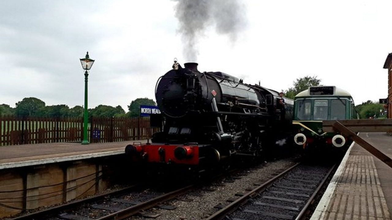 S160 at the Epping Ongar Railway