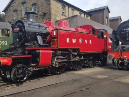 41241 at the Keighley and Worth Valley Railway