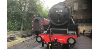 45212 at Haworth
