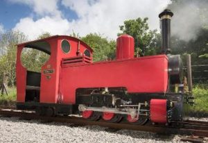 Steam locomotive Zebedee