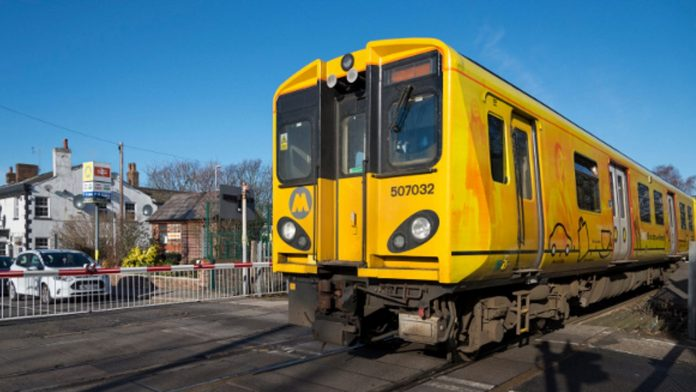 Merseyrail train