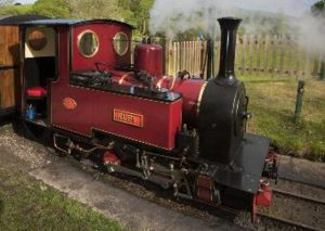 Steam locomotive ruby