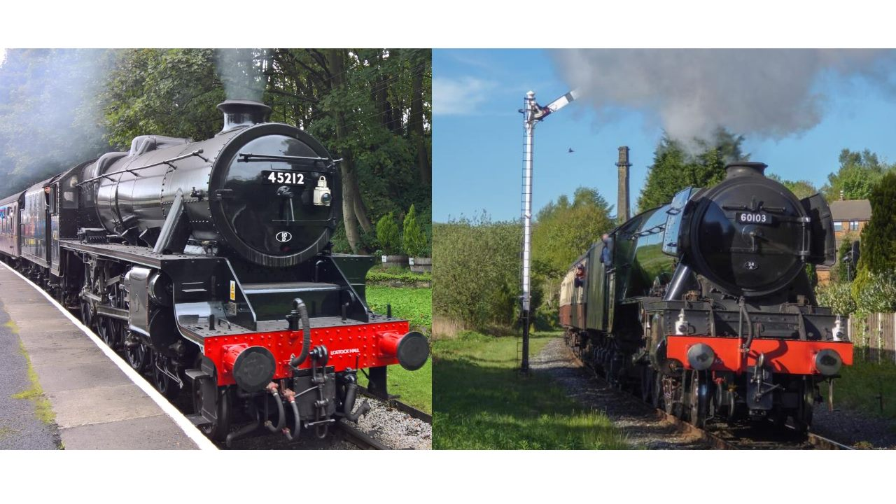 45212 and flying scotsman