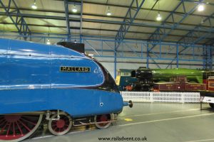 Mallard and Flying Scotsman