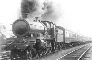 "No.4000 ""North Star"" in 1926 // Credit Warwickshire Railways' website"