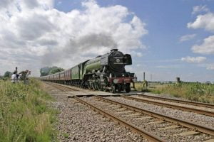 Flying Scotsman on the Scarborough Spa Express