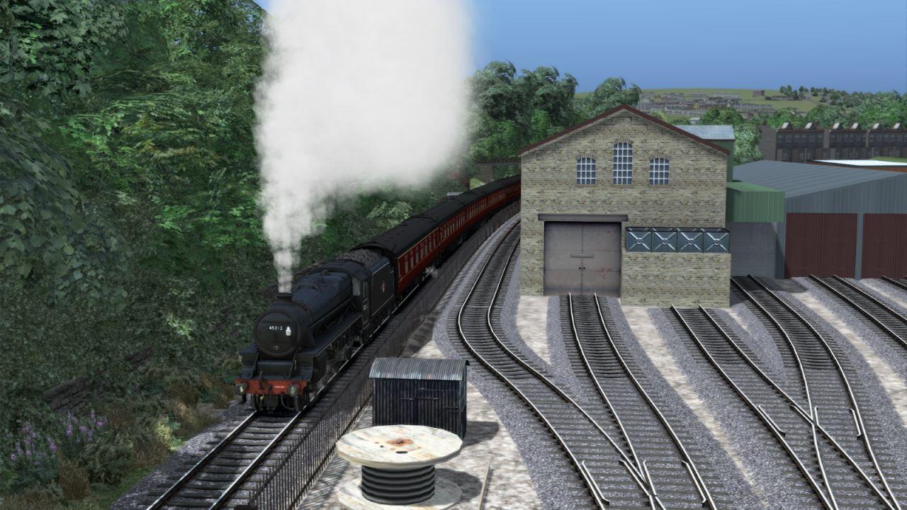 45212 at Haworth Steam Sounds Supreme