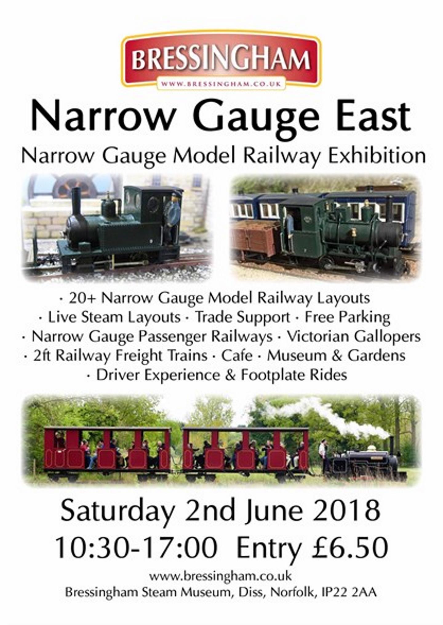 Narrow Gauge East (Model Rail Exhibition) - Bressingham