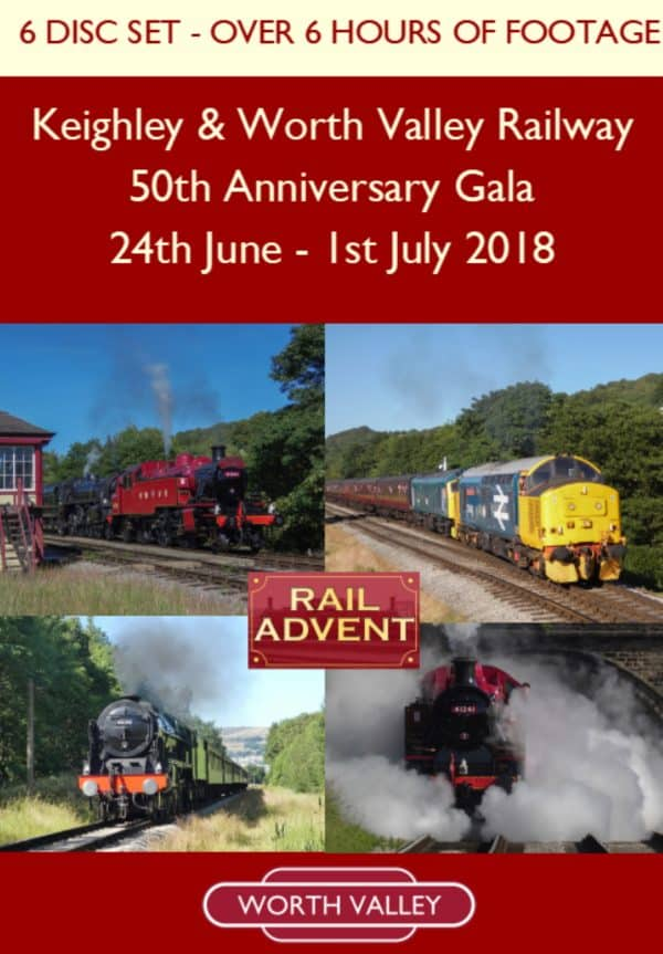 Keighley and Worth Valley Railway 50th Anniversary