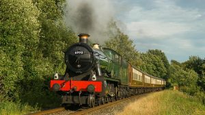 6990 Witherslack Hall on the East Lancashire Railway