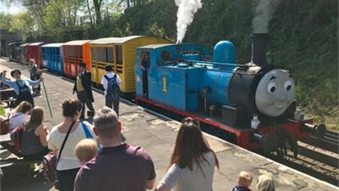 Thomas at the East Lancashire Railway