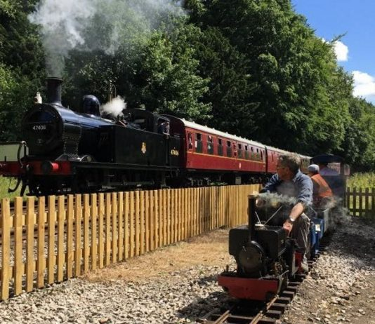 Trains this summer at the Ecclesbourne Valley Railway