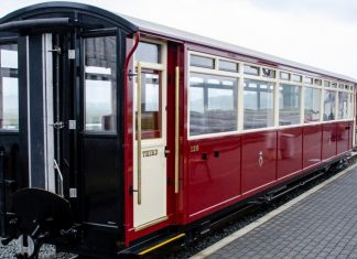 Ffestiniog Railway Carriage 120