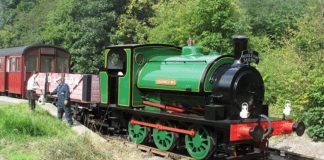 No.1 to visit the Foxfield Railway