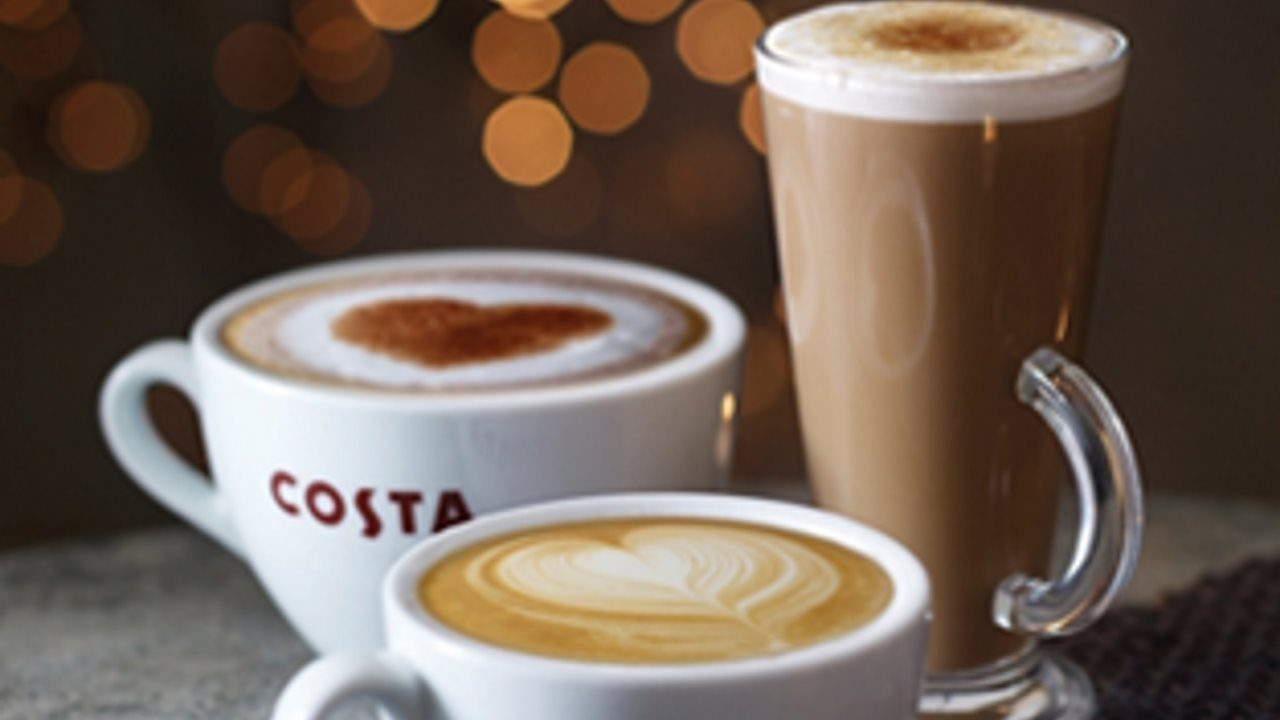 Costa Coffee Opens At Cambridge North Railway Station