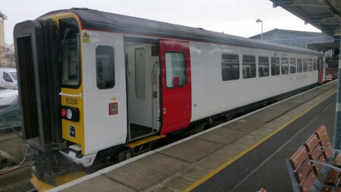 Greater Anglia 153 trains