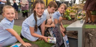 Time capsule at Maghull North