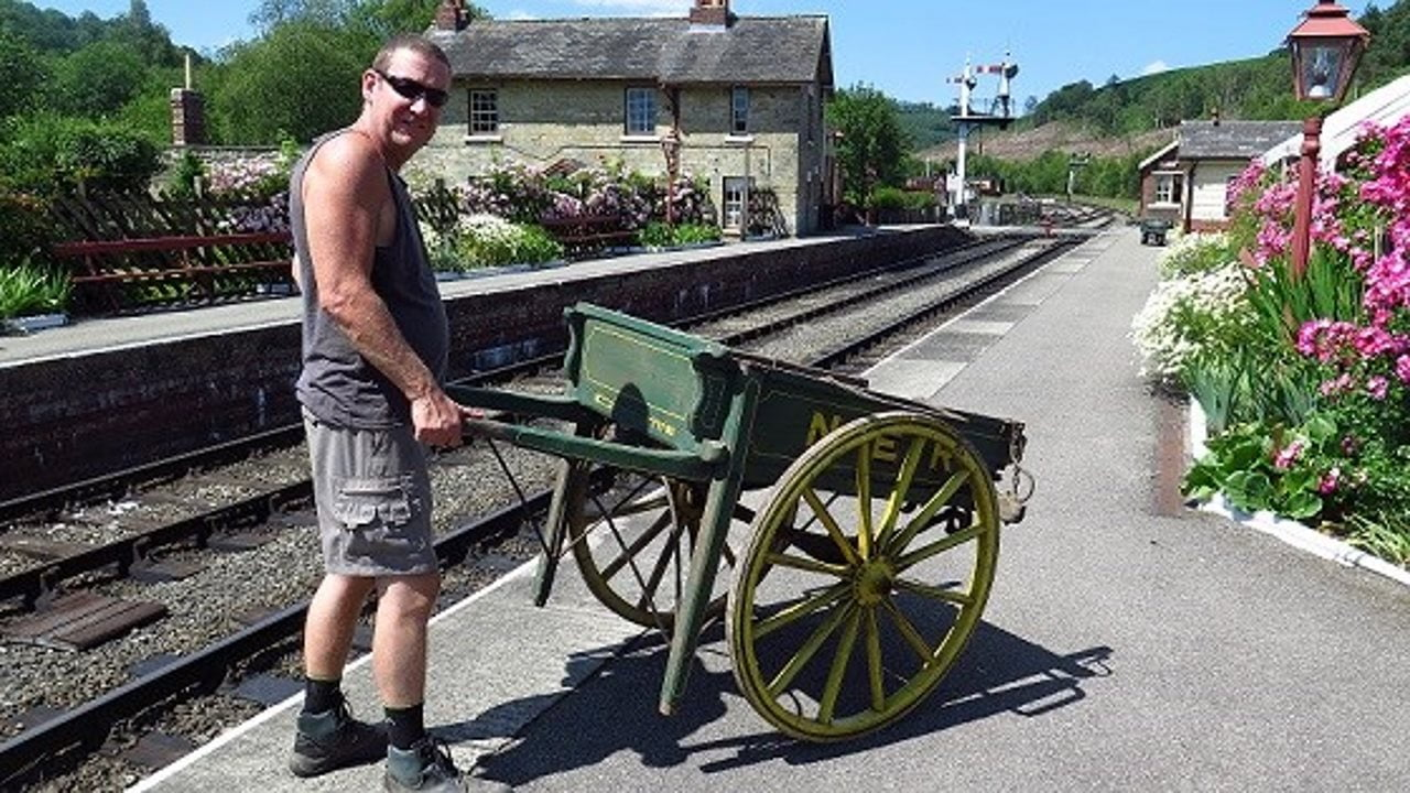 Network Rail workers help out at North Yorkshire Moors Railway