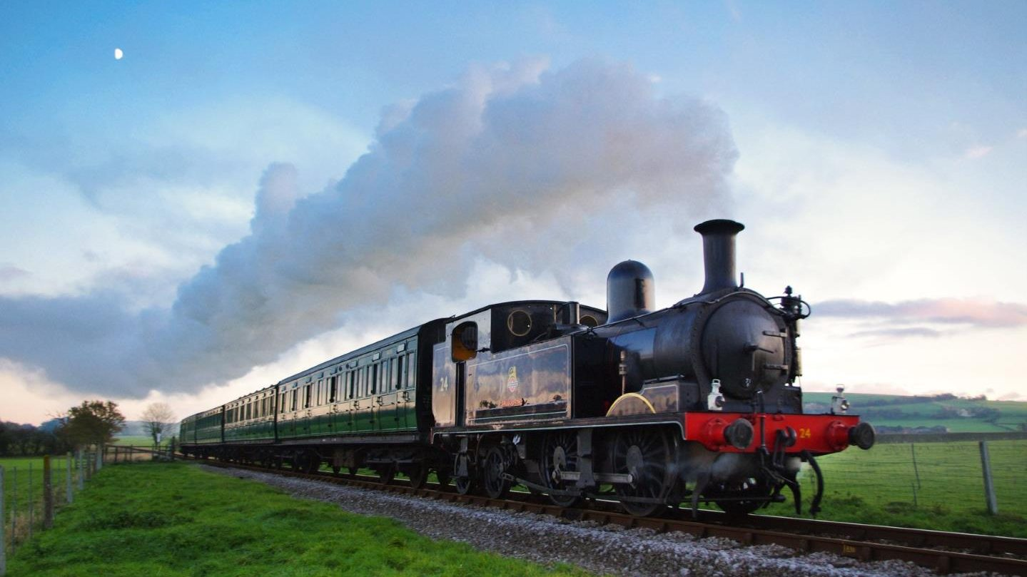 "No.W24 ""Calbourne"" // Credit Isle of Wight Steam Railway"