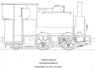 Corris Railway Falcon project