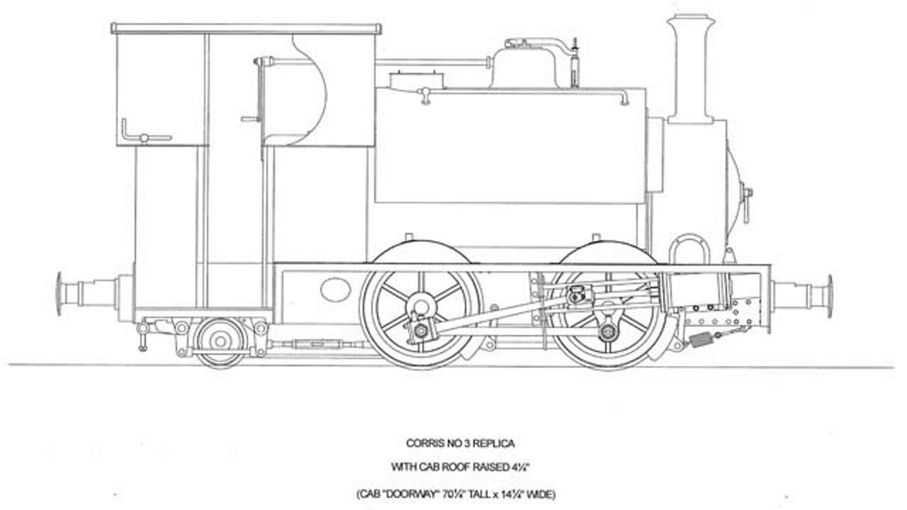 Corris Railway Falcon steam locomotive project