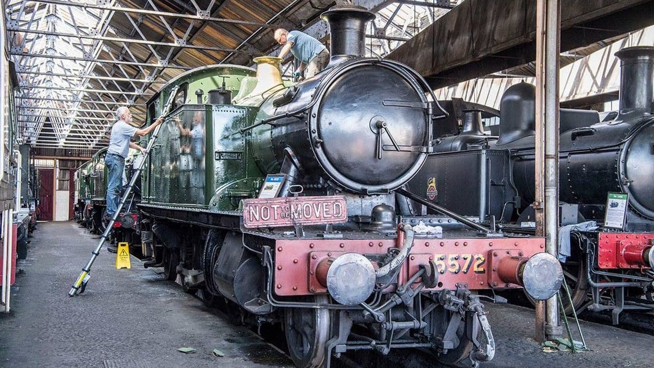 5572 repaint Didcot Railway Centre