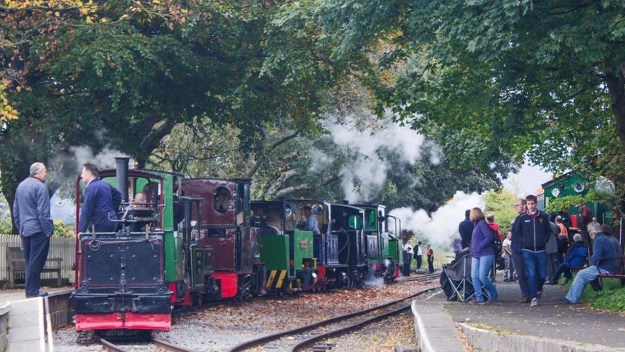 Leighton Buzzard Railway steam gala