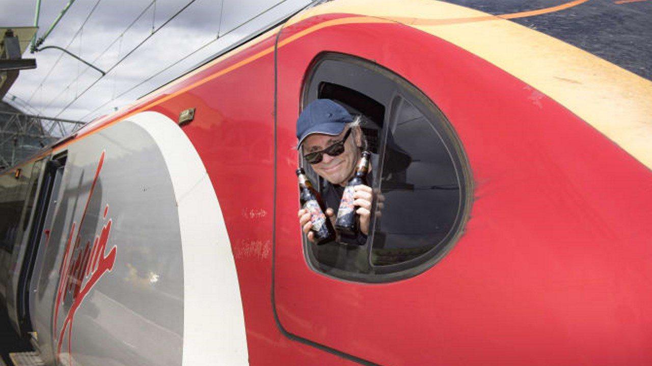 Virgin Trains Bruce Dickinson