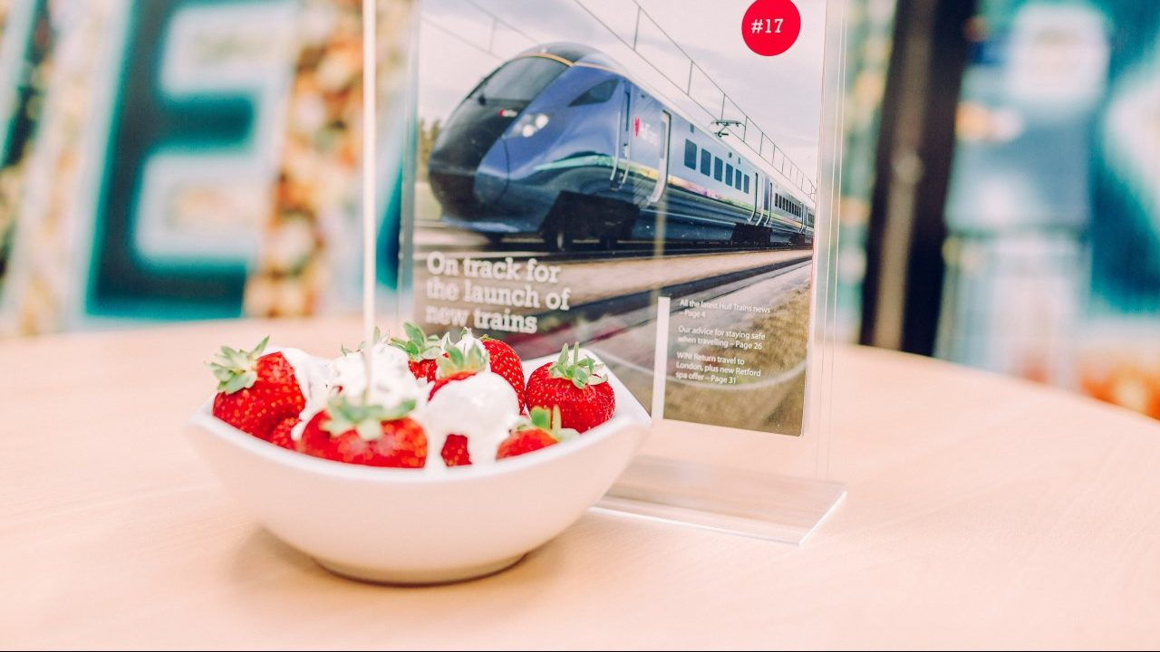 Hull Trains sees strawberries fly
