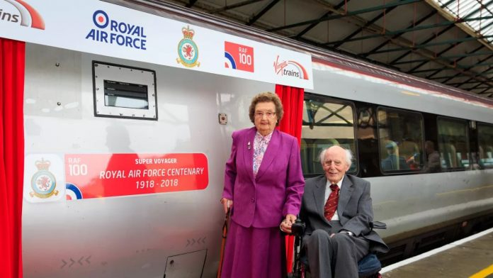 Virgin Trains RAF Train