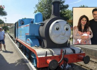 Thomas the tank engine baby