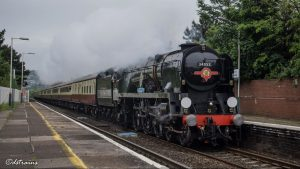 The Welsh Marches Express (Crewe - Cardiff) @ Crewe Railway Station | England | United Kingdom