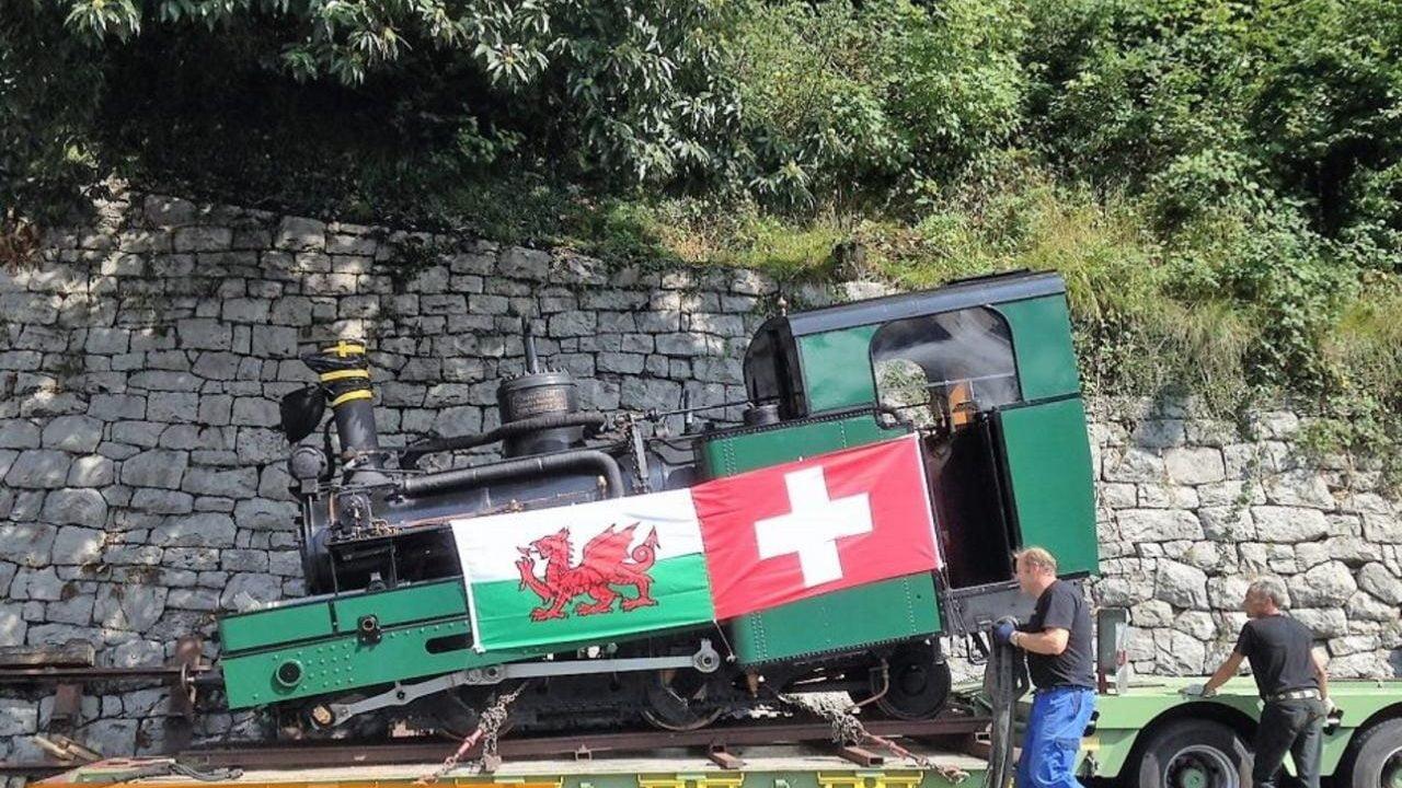 Swiss locomotive coming to Wales