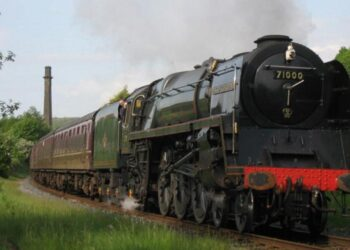 71000 Duke of Gloucester on the East Lancashire Railway