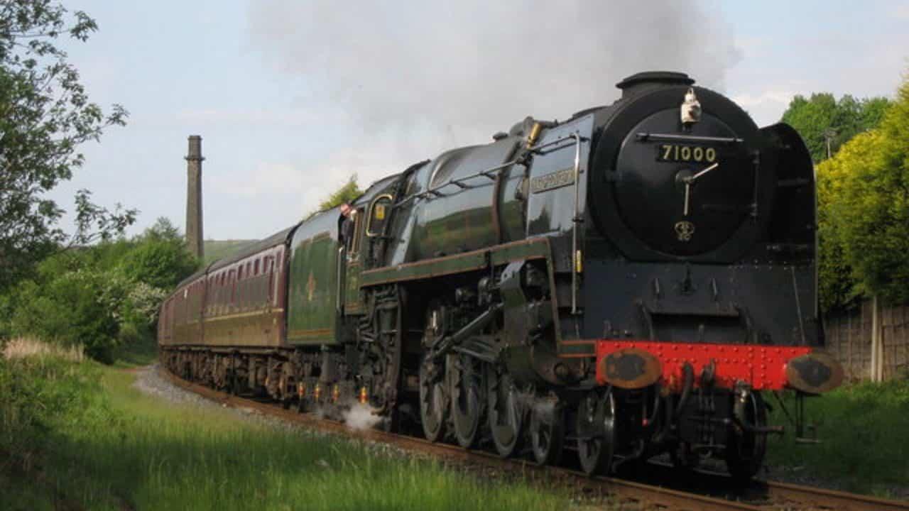 71000 Duke of Gloucester on the East Lancashire Railway