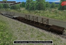 40t Trestrol Wagons from Steam Sounds Supreme for Train Simulator